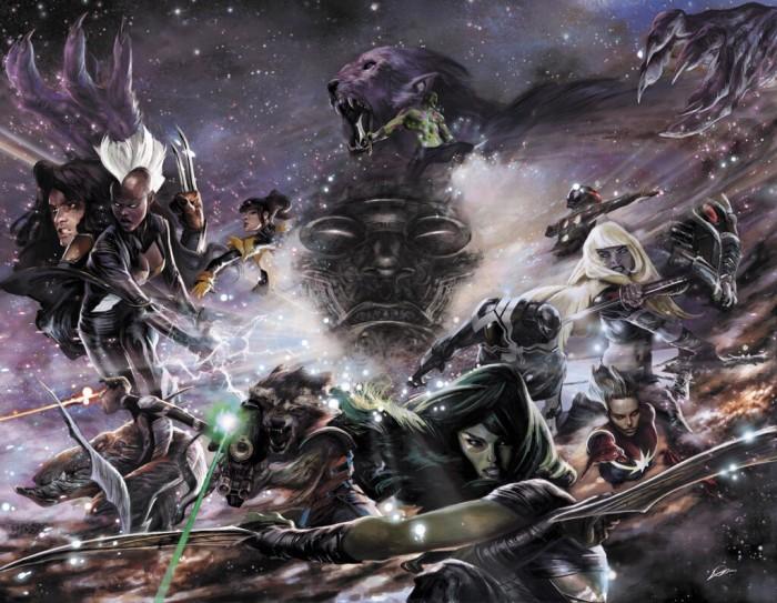 Guardians_of_the_Galaxy_&_X-Men_Black_Vortex_Alpha_Vol_1_1_and_Guardians_of_the_Galaxy_&_X-Men_Black_Vortex_Omega_Vol_1_1_Lozano_Variant_Textless
